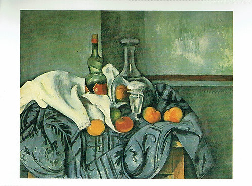 Marc Chagall, Still Life with Peppermint Bottle