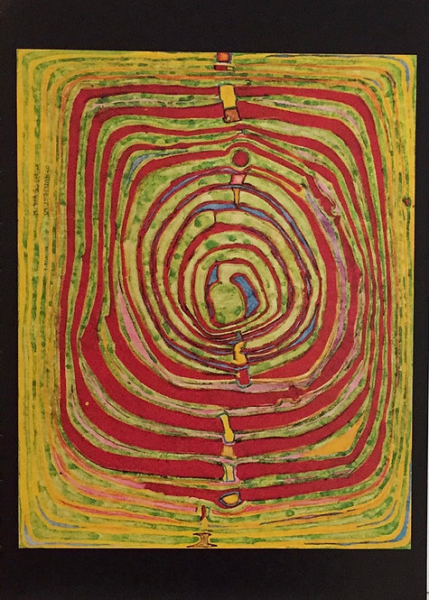 Hundertwasser, Spirals in Schweinfurt and Vermillon