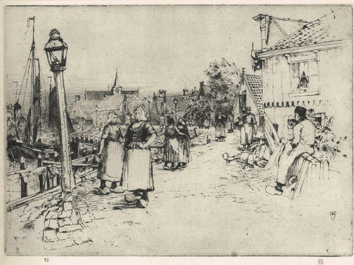 Frank Short, Noon on the Zuider Zee
