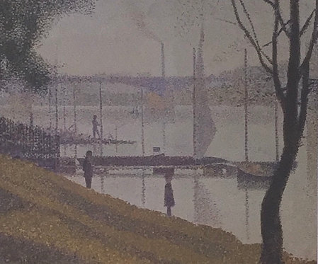 Georges Seurat, The Bridge at Courbevoie