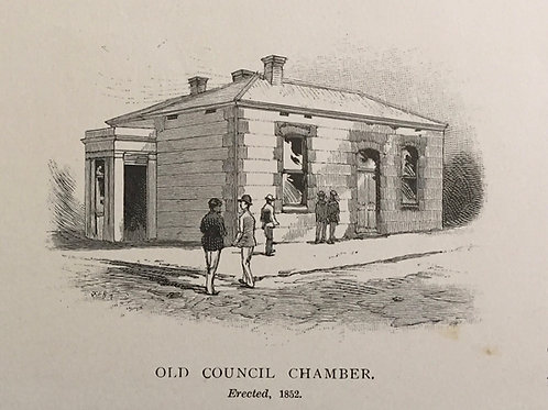 Old Council Chamber, erected 1852