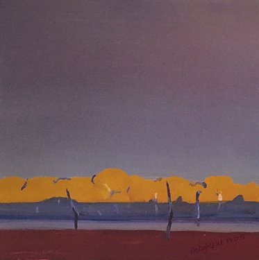 Michael White, Creekline at Sunrise