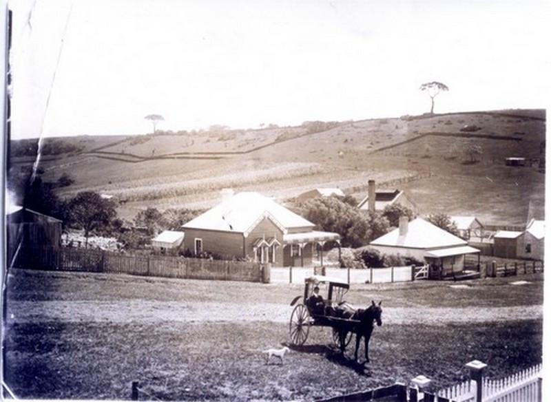 Gerringong Road,  1850s