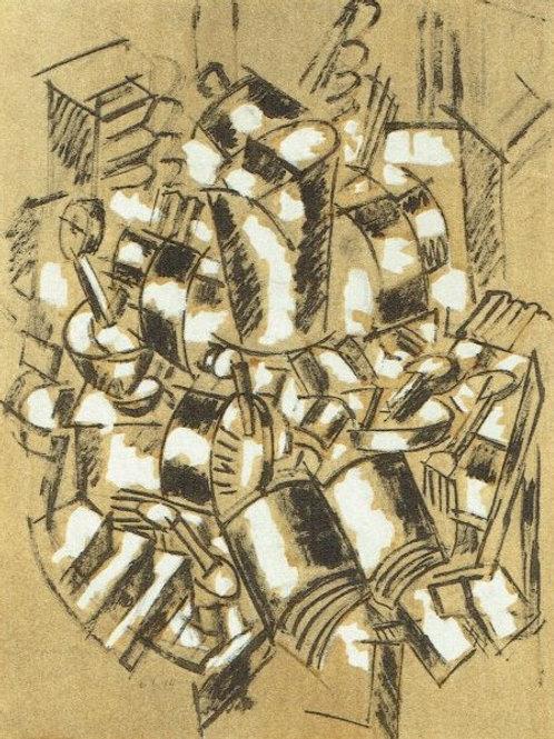 Fernand Leger - Limited edition pochoir