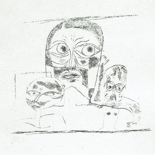 Paul Klee - Three Heads