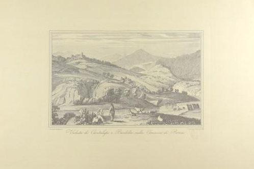 Veduta di Cantalupo e Bardella Nella Comarca di Ro