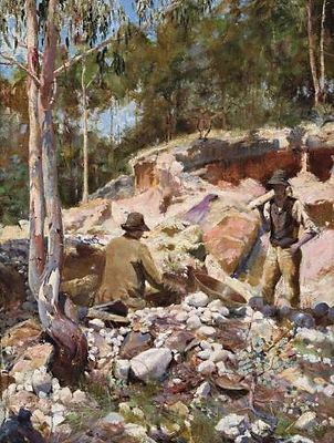 Walter Withers, Fossicking for Gold, 189