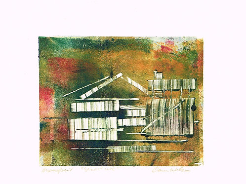 Dawn Wilson, Monoprint, Structure