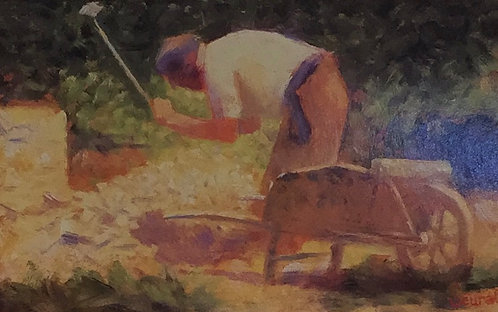 Georges Seurat, The Stone Breaker
