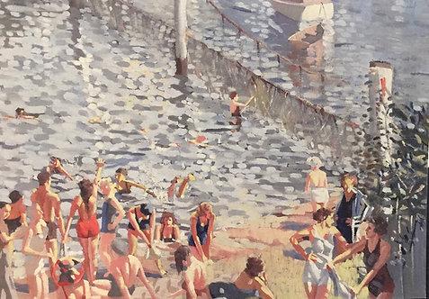 Herbert Badham, The Swimming Enclosure