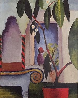 August Macke, Arabisches Cafe, 1914
