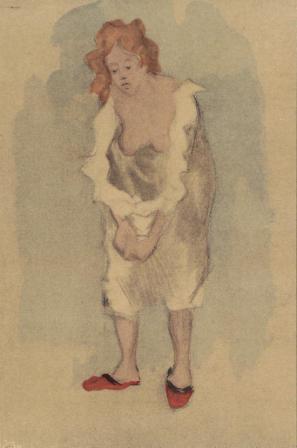 Jacques Villon, Femme en Pantoufles