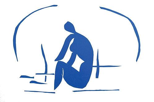 Matisse -  Lithograph - Baigneuse Dans le Roseux
