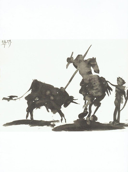 Pablo Picasso, Toros Y Toreros 1
