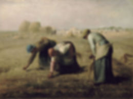 Jean- Francois Millet, The Gleaners, 1857