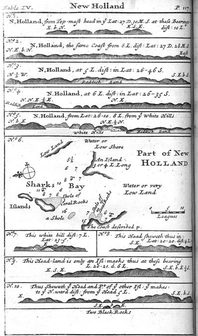 William Dampier, New Holland, from a Voyage to New Holland, 1703