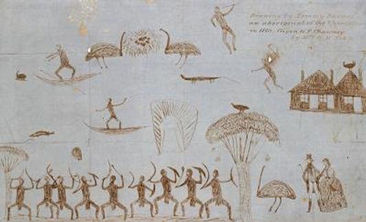 Tommy McRae, Scenes from Aboriginal Life