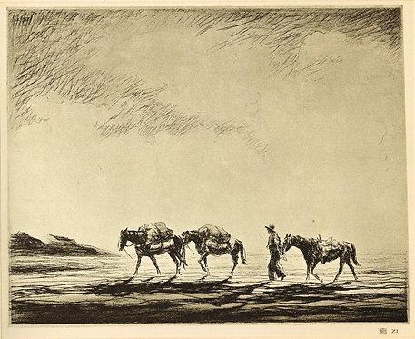 Levon West, Pack Horses