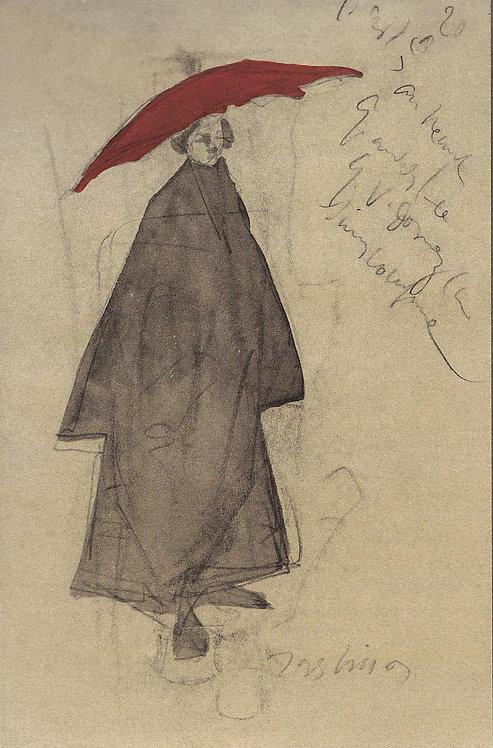 Jacques Villon, Le Parapluie rouge