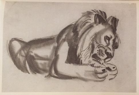 Laura Knight, Lion I