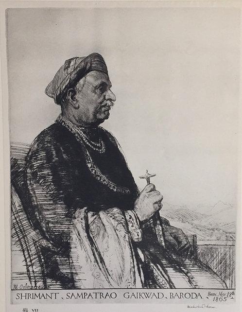 Malcolm Osborne, Sampatrao Gaikwad
