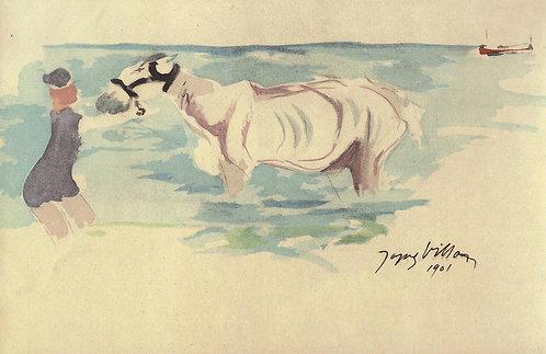 Jacques Villon, A Dieppe