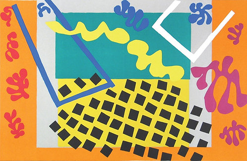 Matisse -  Les Codomas 1983 reproduction