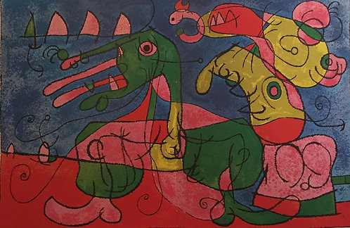 Joan Miro, At the Tsar's