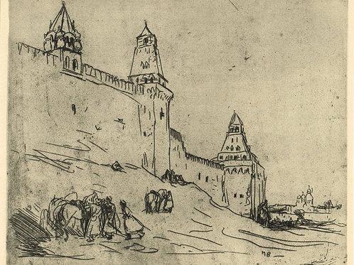Marius Bauer, The Kremlin