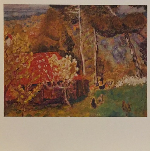 Pierre Bonnard, The Farmhouse with the Red Roof