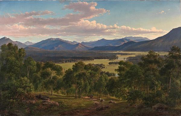 Eugène_von_Guérard,_Spring_in_the_Valley