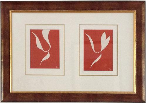 Henri Matisse, Skaters, Verve Lithographs