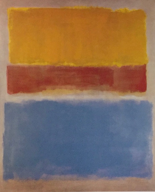 Mark Rothko, Untitled (Yellow, Red and Blue)