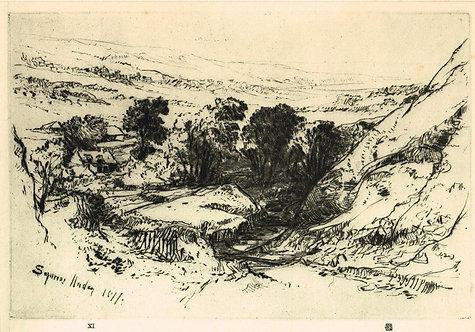 Sir Francis Seymour Haden, Nine Barrow Down
