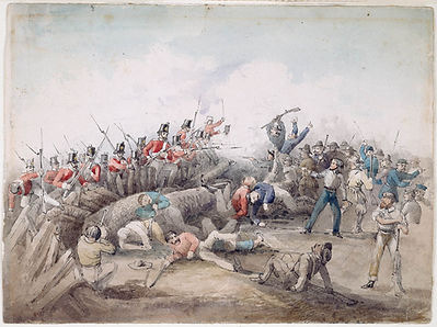 J. B. Henderson, Eureka Stockade riot, B