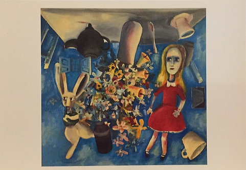 Charles Blackman, Upside Down Alice