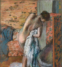 Edgar Degas, Woman Drying Herself after the Bath, c 1882-1885