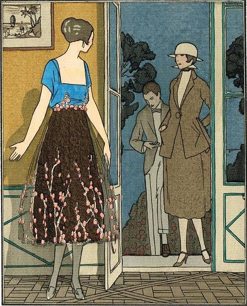 Gazette Du Bon Ton 1920 No 3 Pochoir