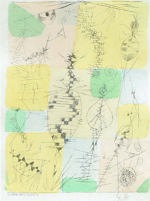 Paul Klee - Insects
