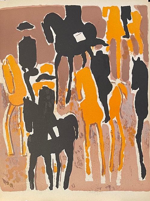 Andre Brasilier - Original Lithograph