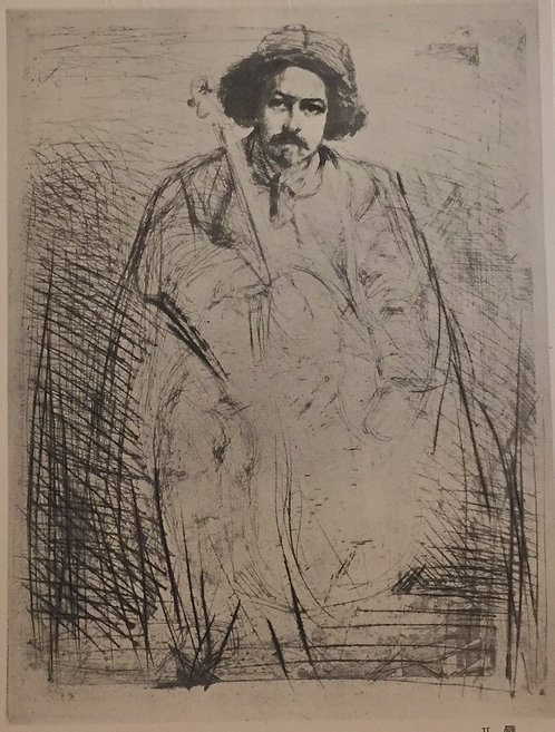 JM Whistler, Becquet,The Fiddler