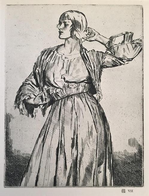 G L Brockhurst, Study for Decoration