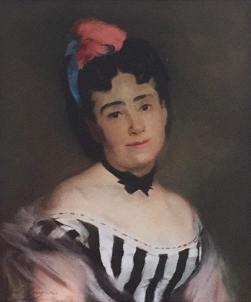 Eva Gonzales, Portrait de Madame E.G. 1869-1870