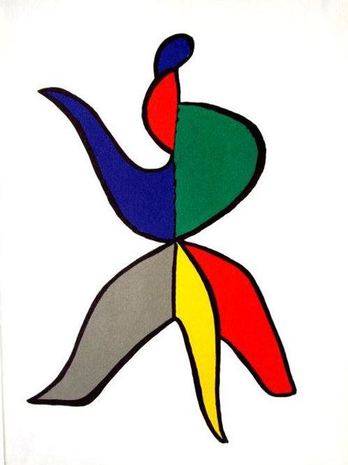 Calder - Plate 4 - Original lithograph