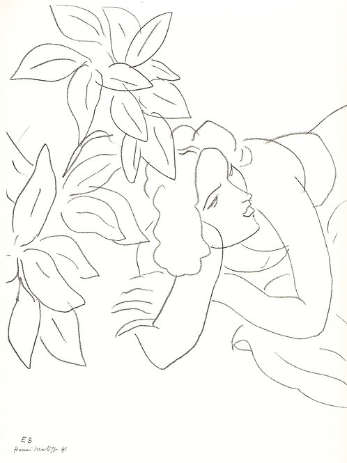 Matisse drawing from Themes and Variations