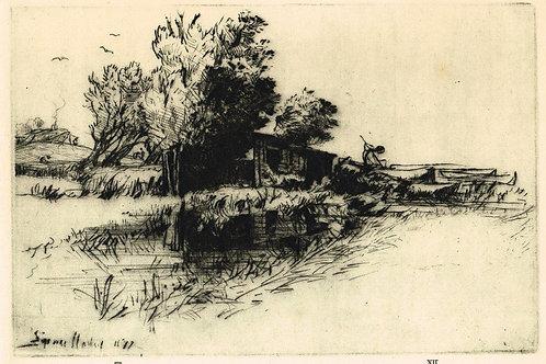 Sir Francis Seymour Haden, The Little Boat House