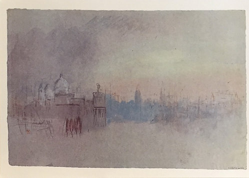 J. M. W. Turner, Venice: The Salute and Dogana