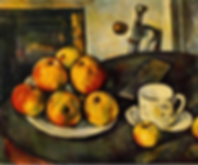 Paul Cezanne, Still Life with Apples, 1890-94.