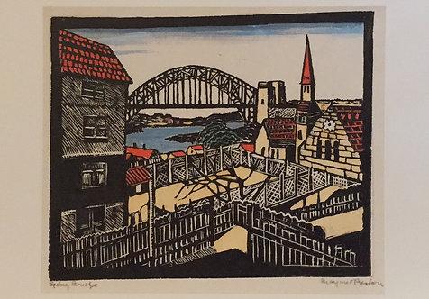 Margaret Preston, The Bridge from North Shore