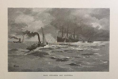 Mail Steamer off Glenelg